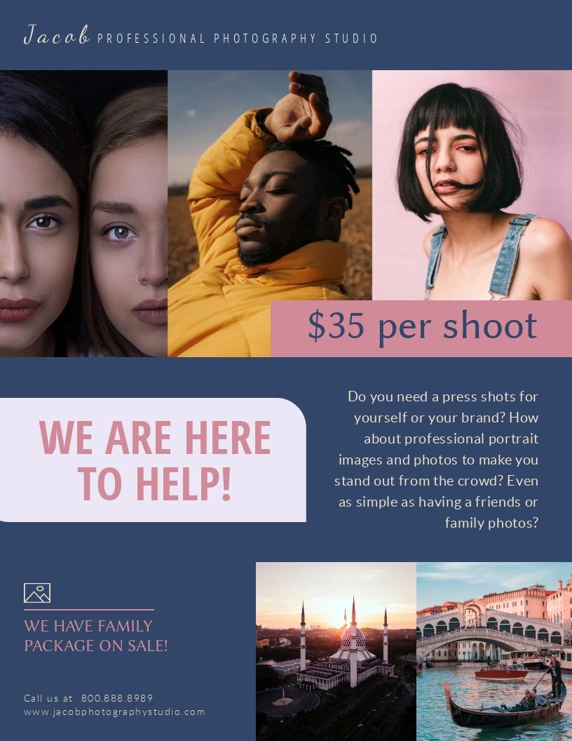 Photography Studio - Flyer Template