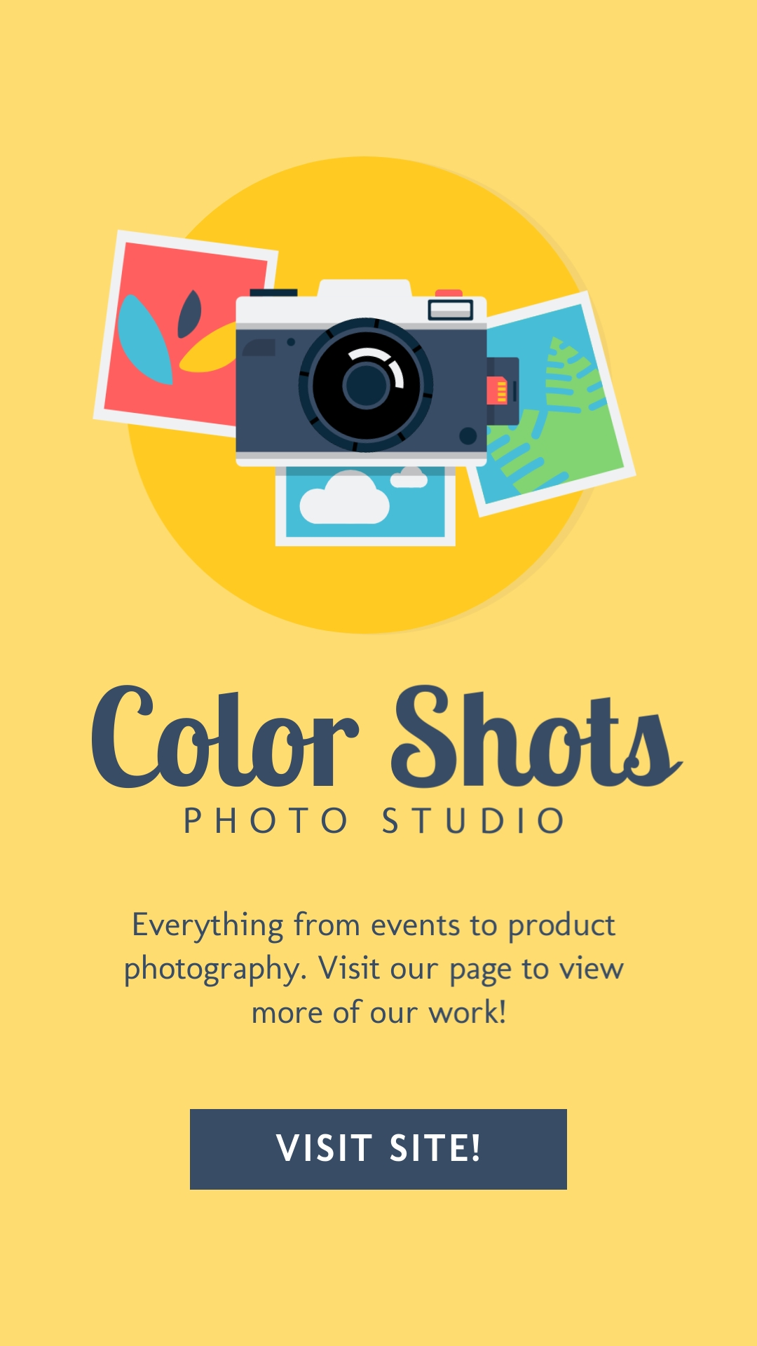 Photography Vertical Template