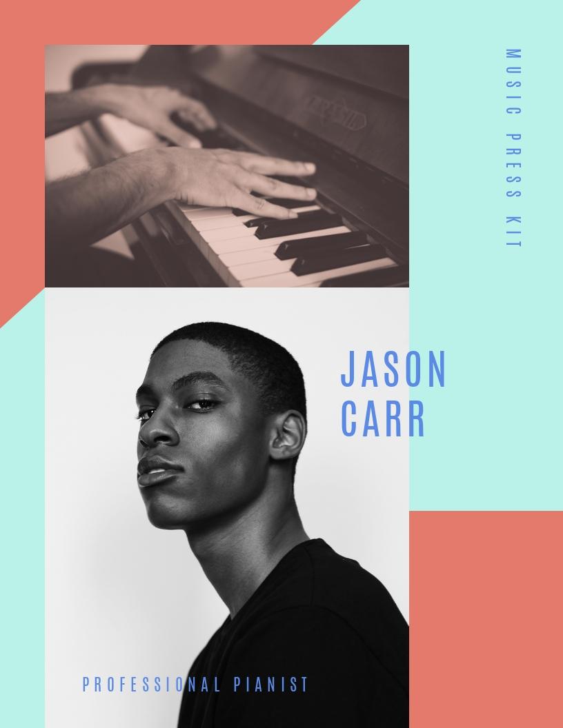 Pianist Music - Press Kit Template
