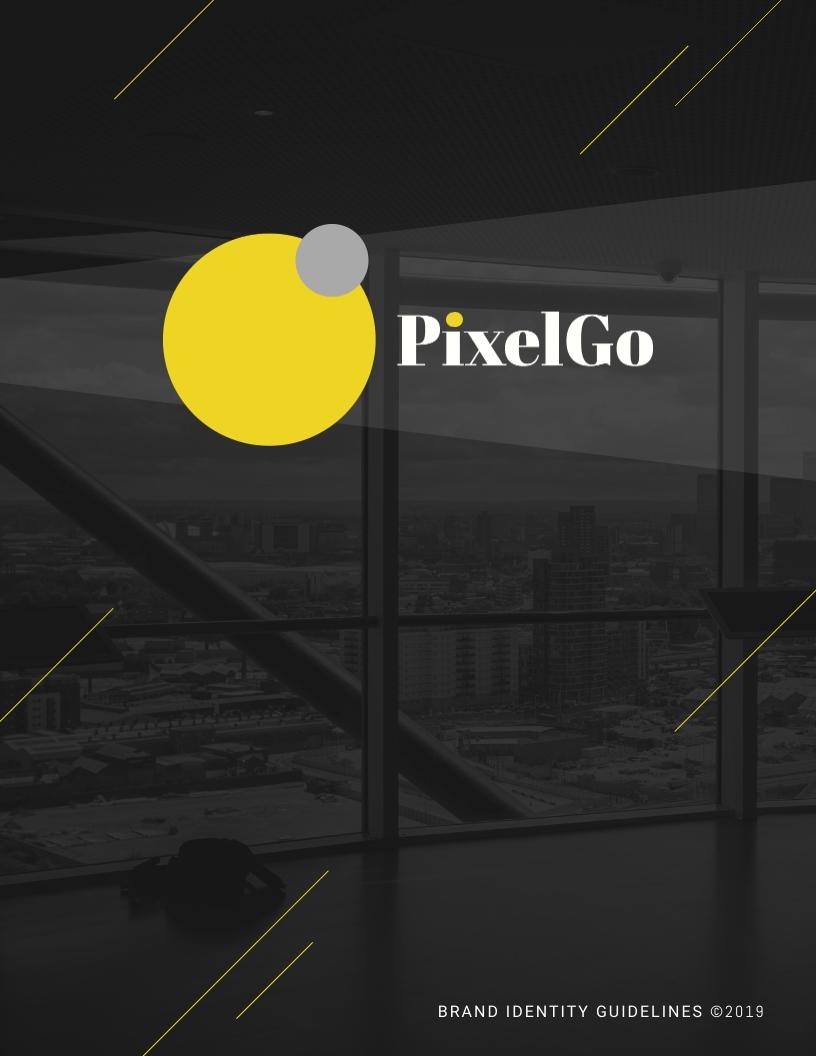 PixelGo - Brand Guidelines Template