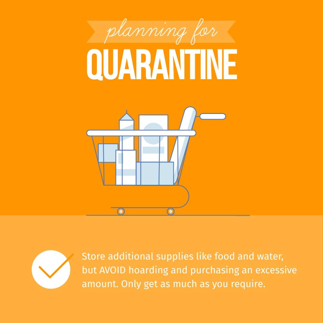 Planning for Quarantine Animated Square Template