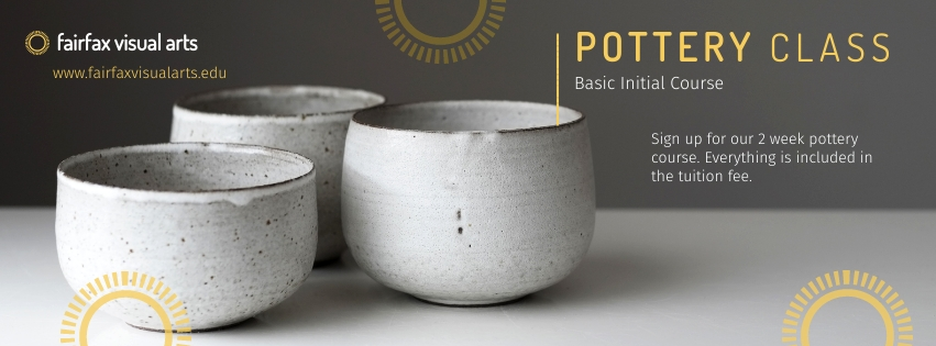 Pottery Class Facebook Cover  Template