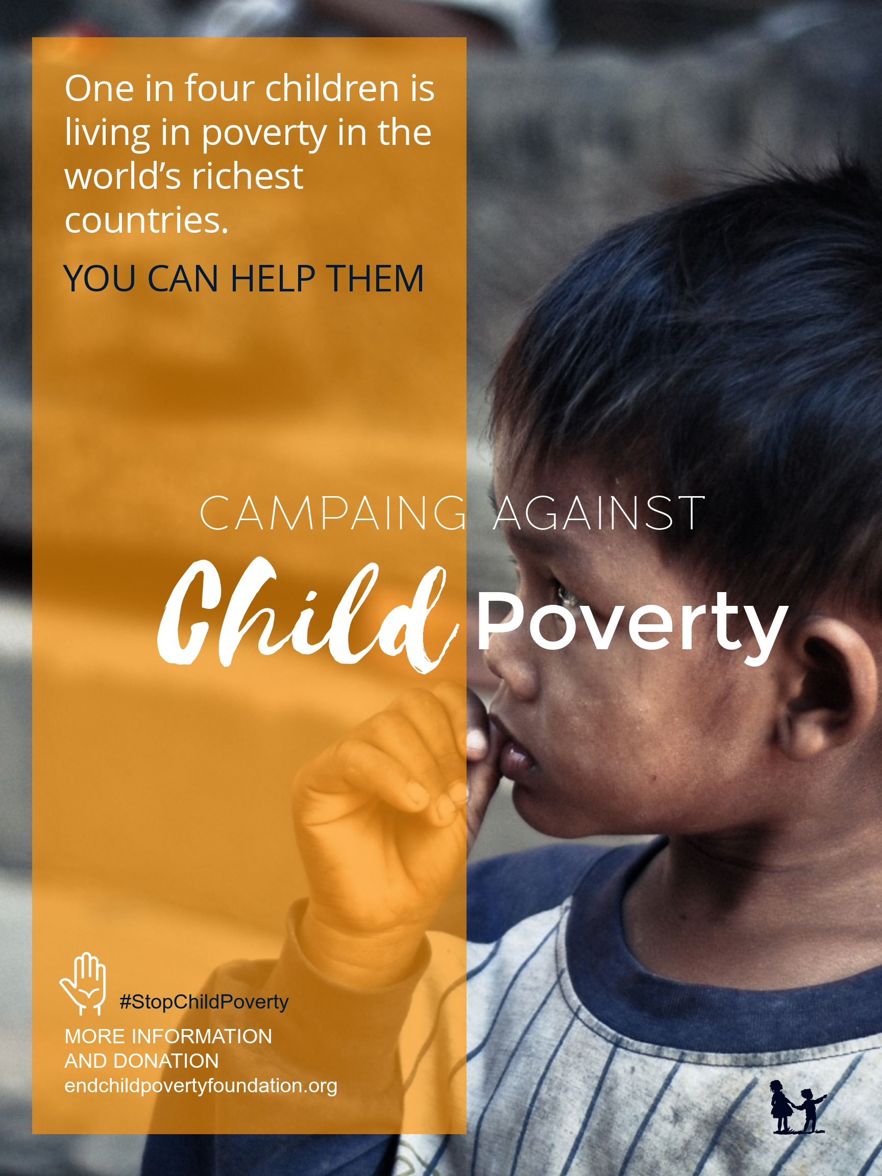 Poverty Foundation Poster Template