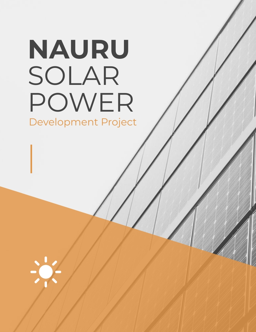 Power Generation - Project Plan Template