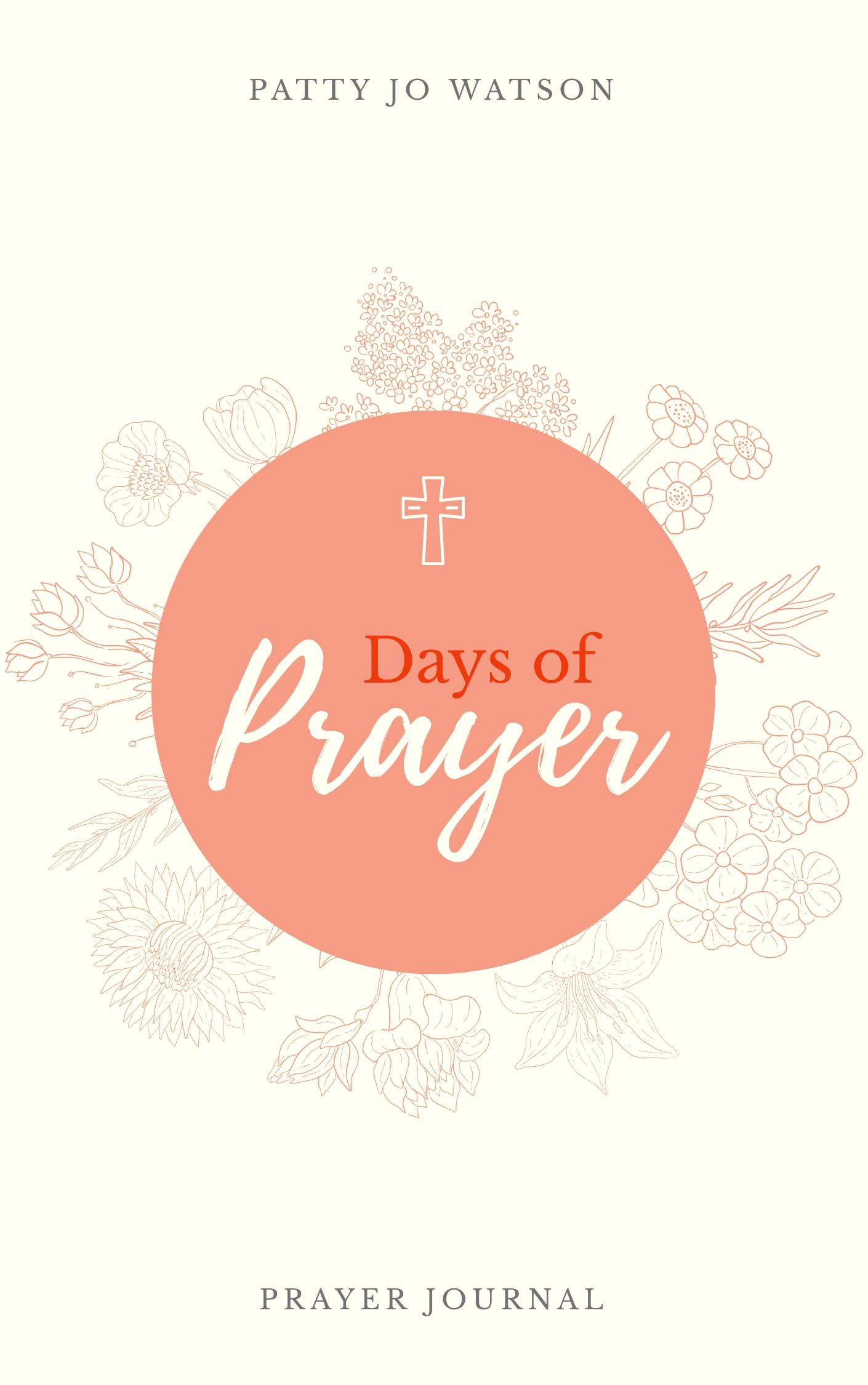 Prayer - Book Cover Template