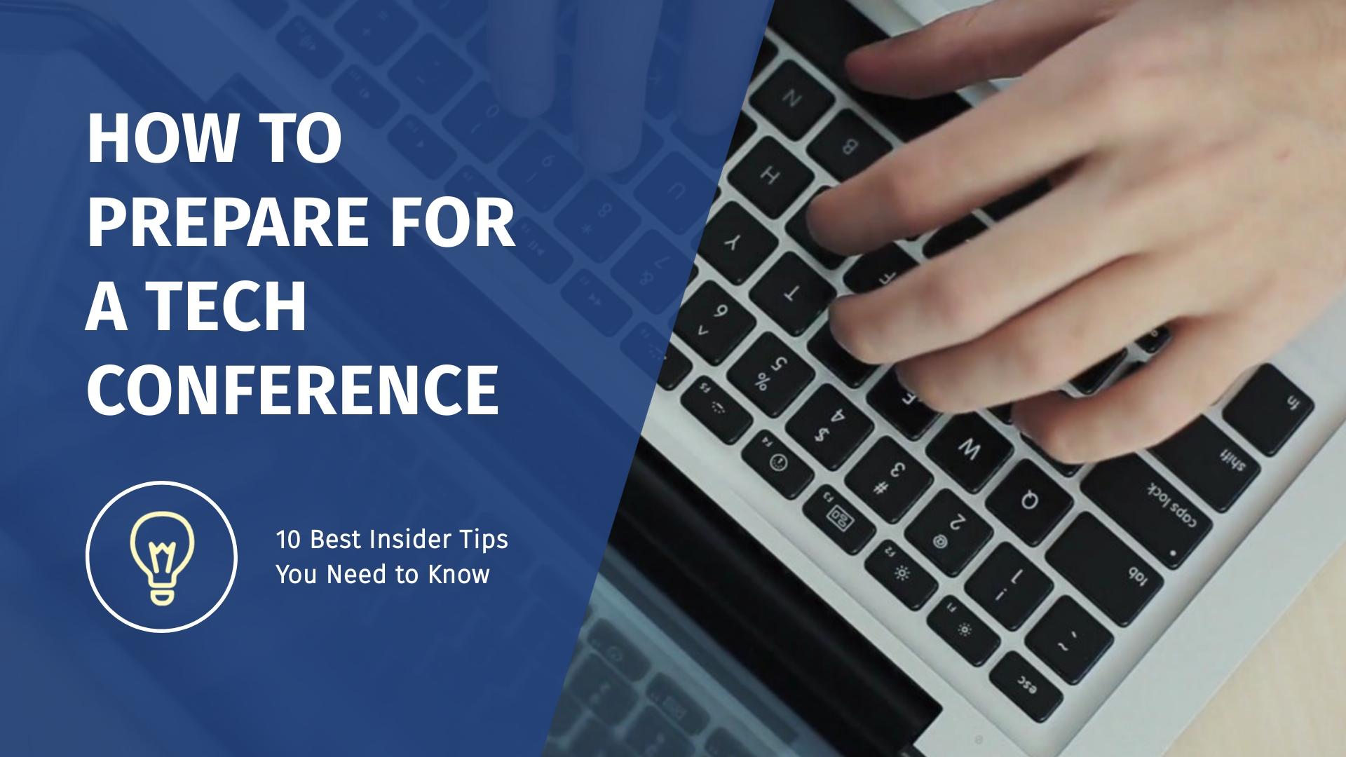 Prepare for a Tech Conference Intro - Video Template