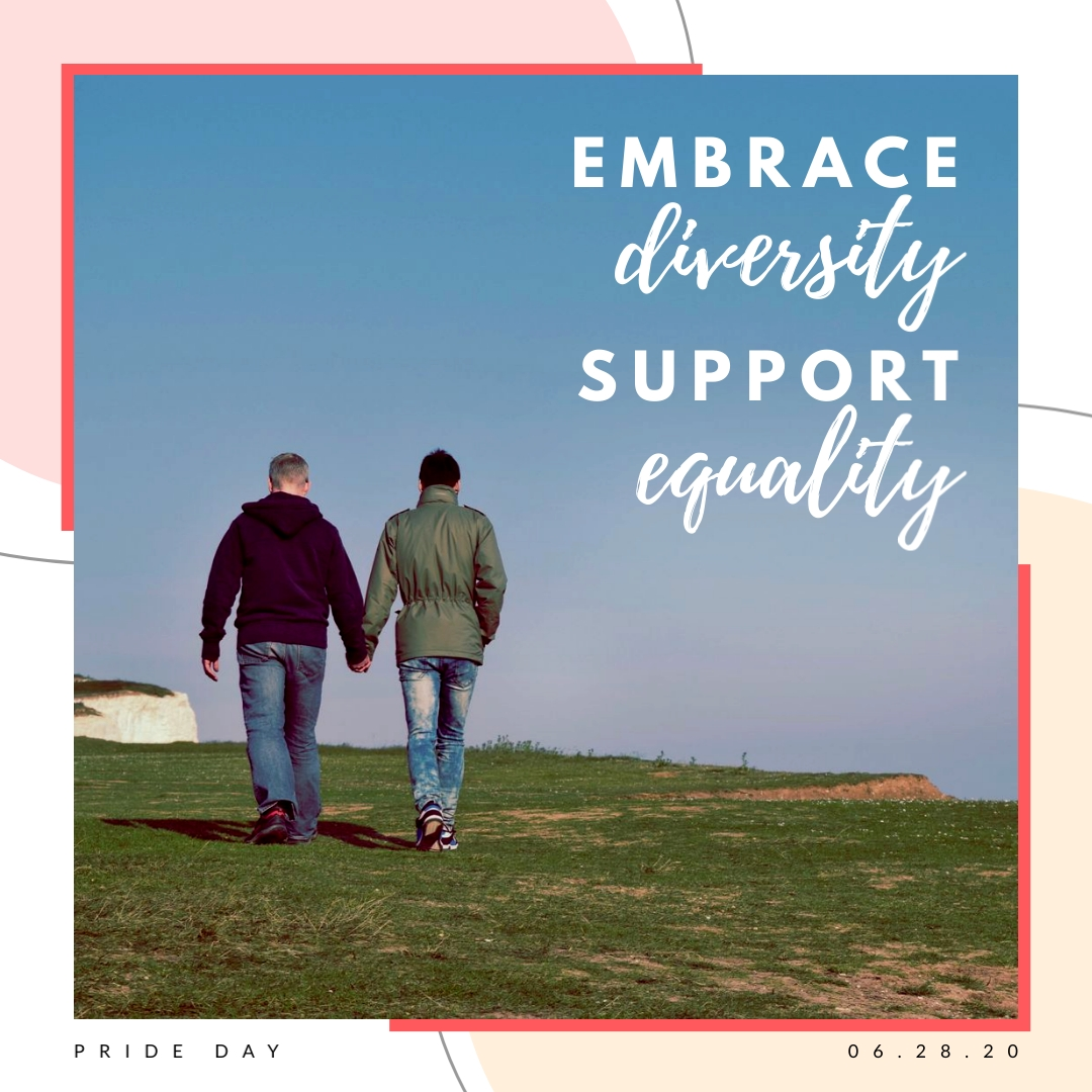 Pride Equality Quote - Instagram Post Template