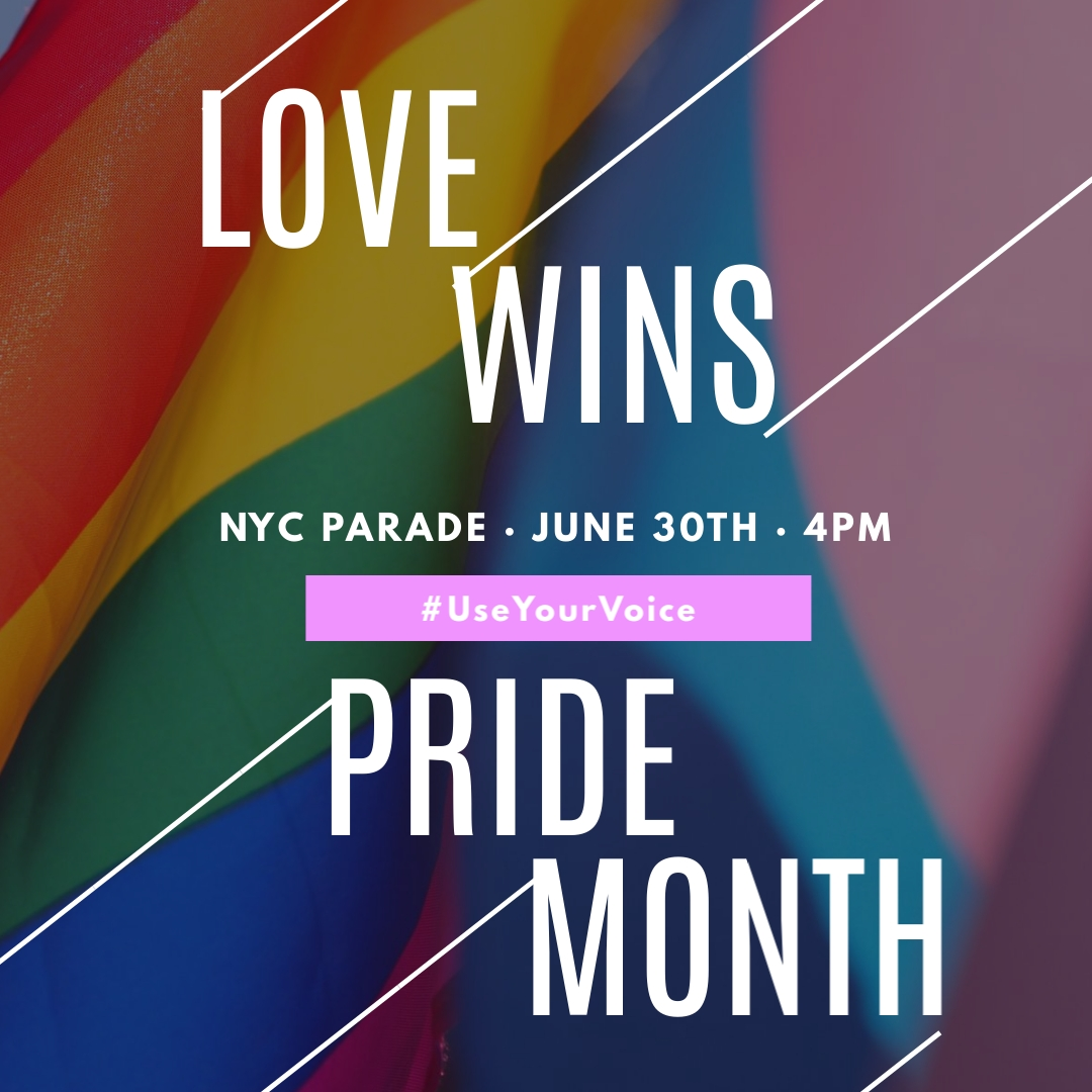 Pride Month Parade Animated Square Template