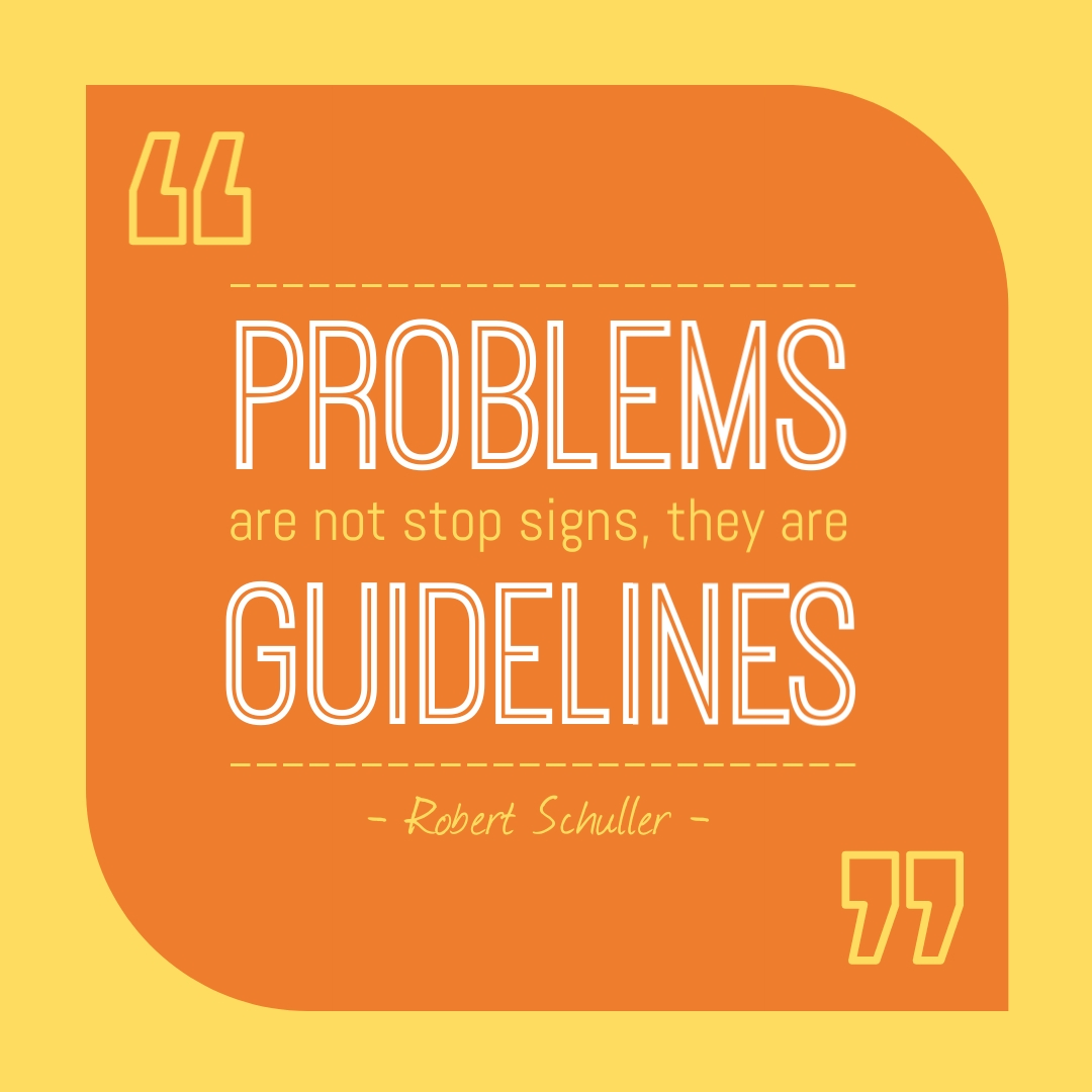 Problems Quote Instagram Post Template