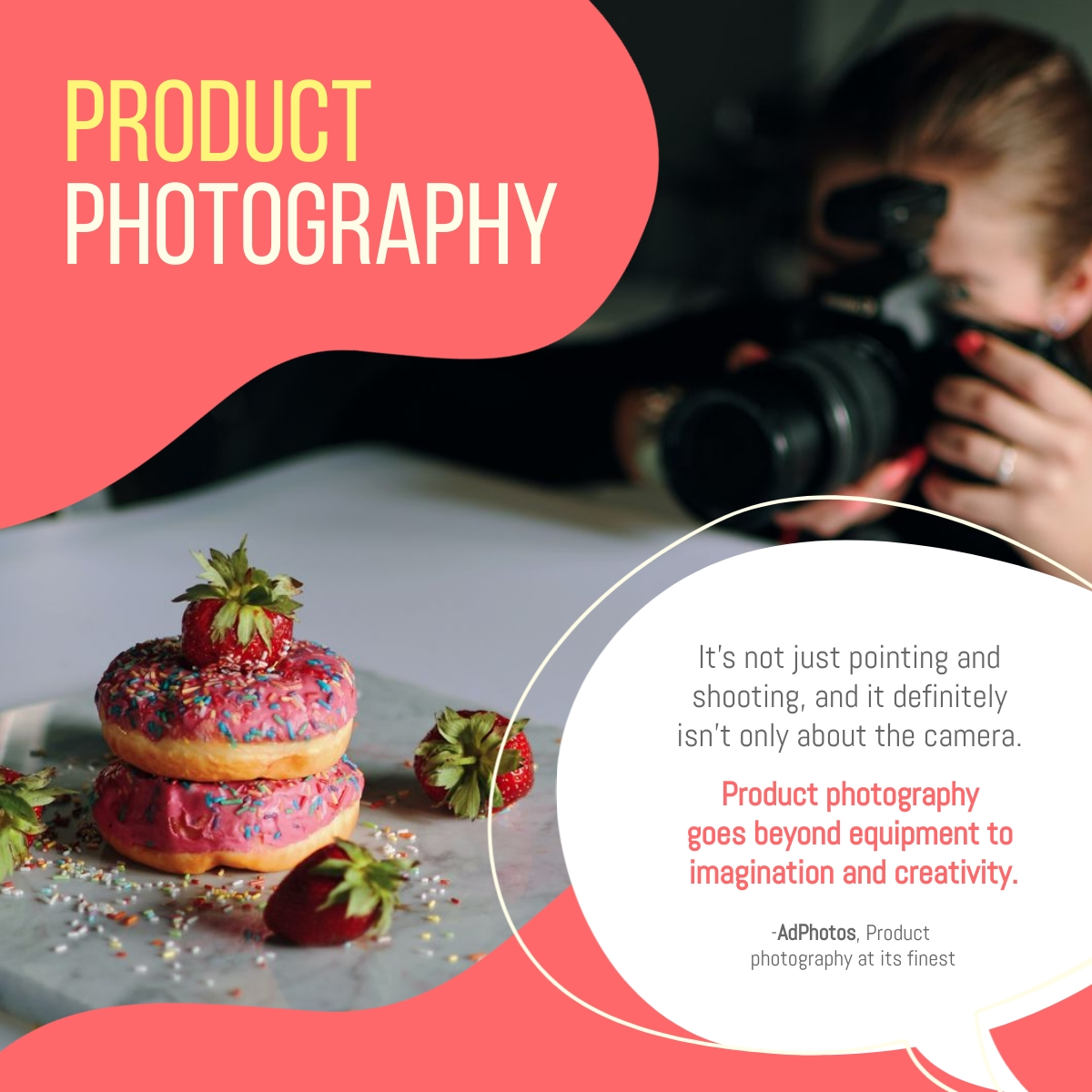 Product Photography - LinkedIn Post Template