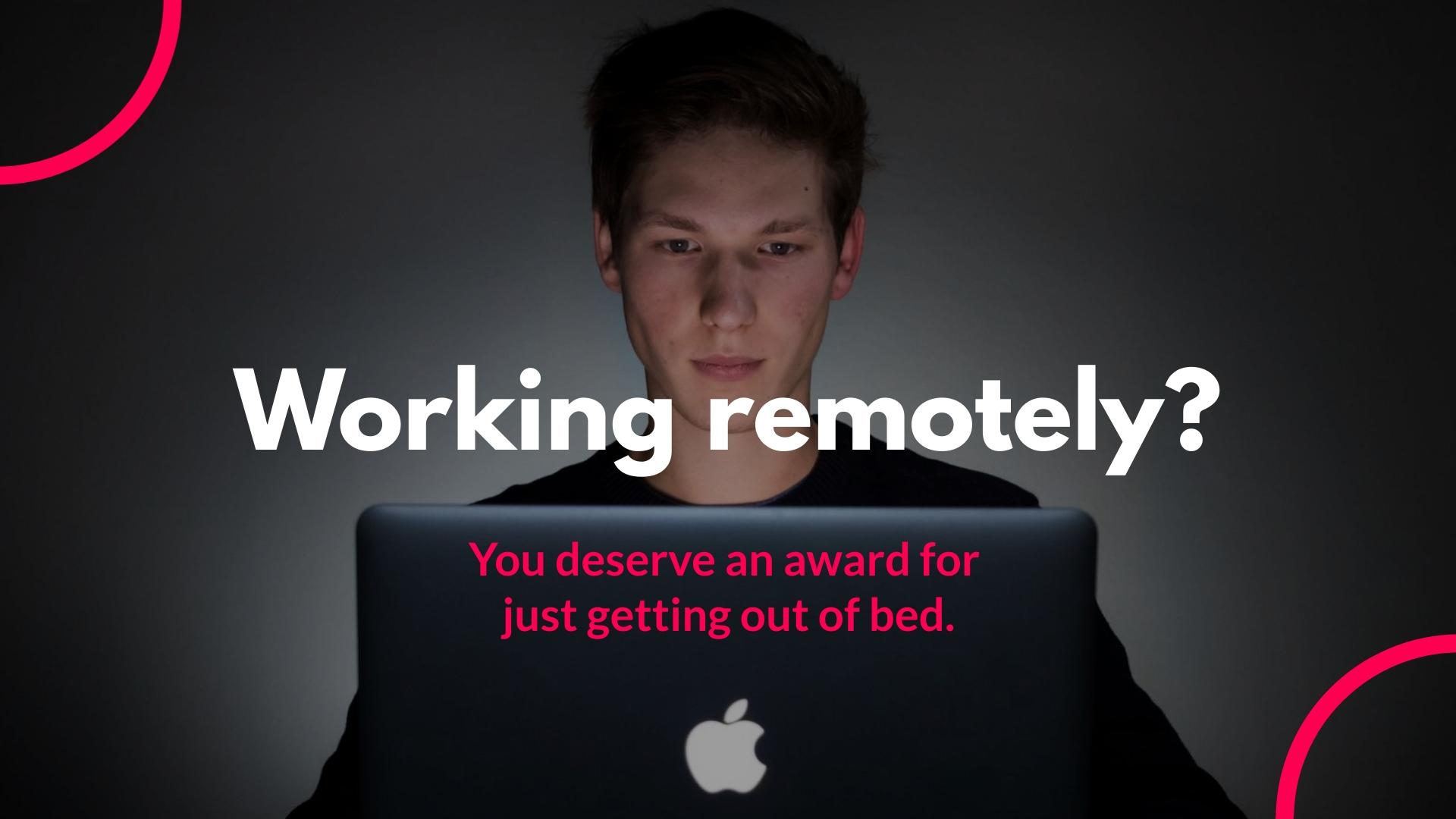 Productivity Facebook Video Ad Template