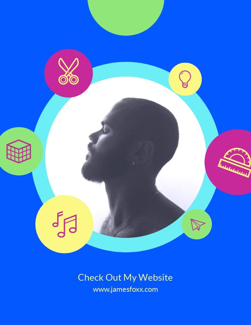 Profile - Flyer Template