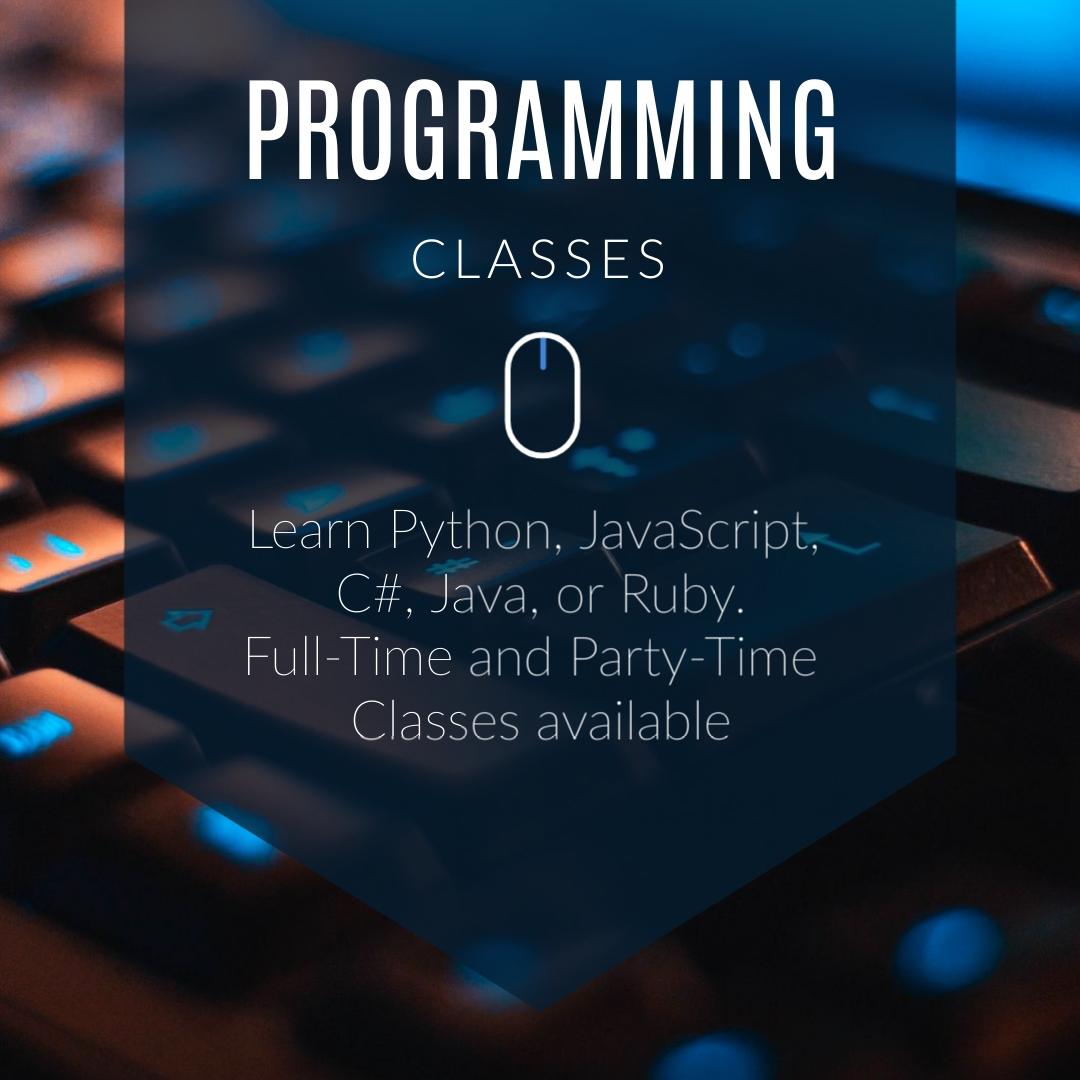 Programming Classes Square Template