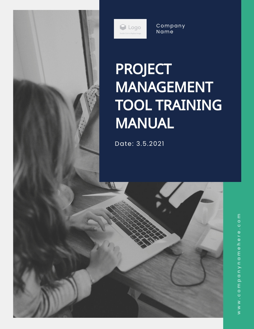 Project Management Tool - Training Manual Template