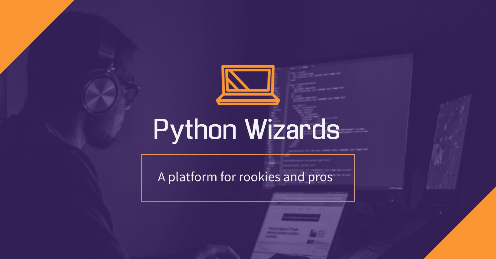Python Developers Facebook Group Cover Template
