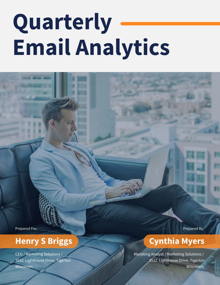 Quarterly Email Analytics - Report Template