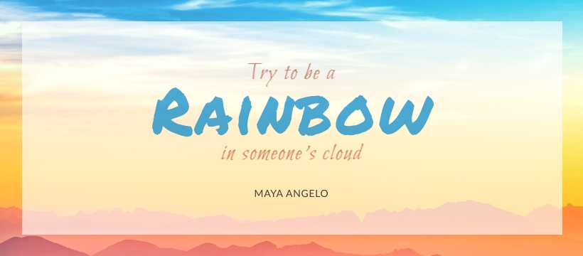 Rainbow - Facebook Page Cover Template