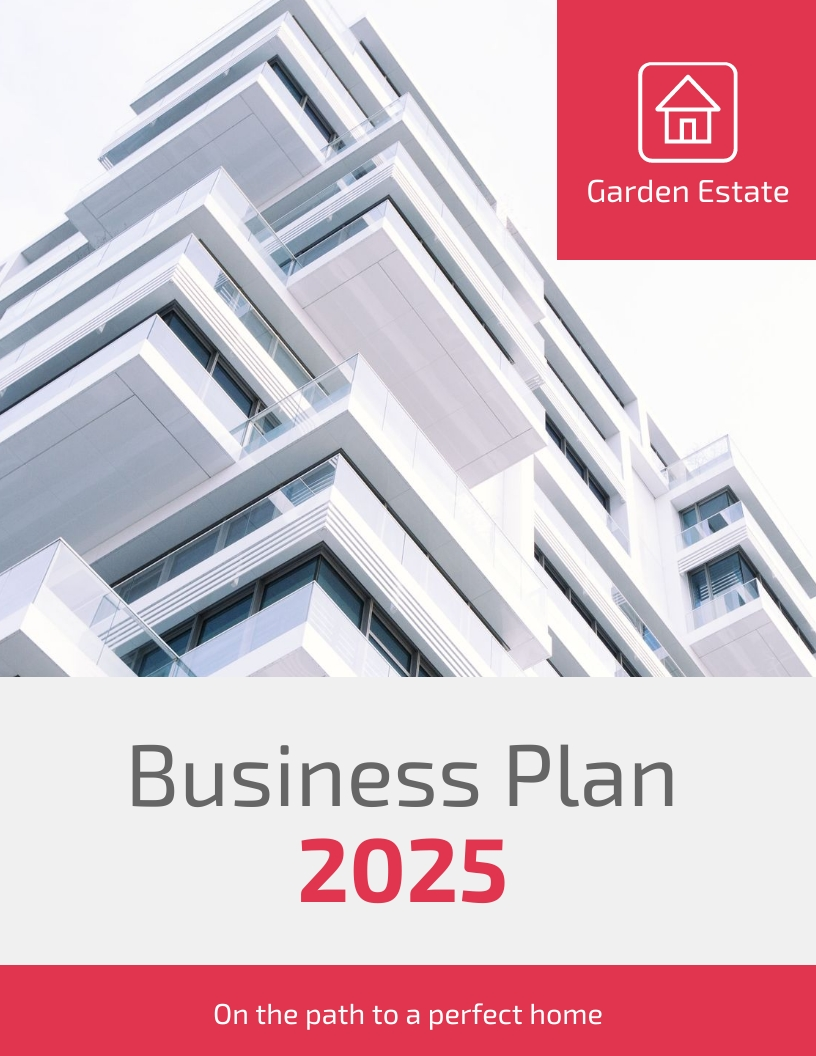Real Estate - Business Plan Template