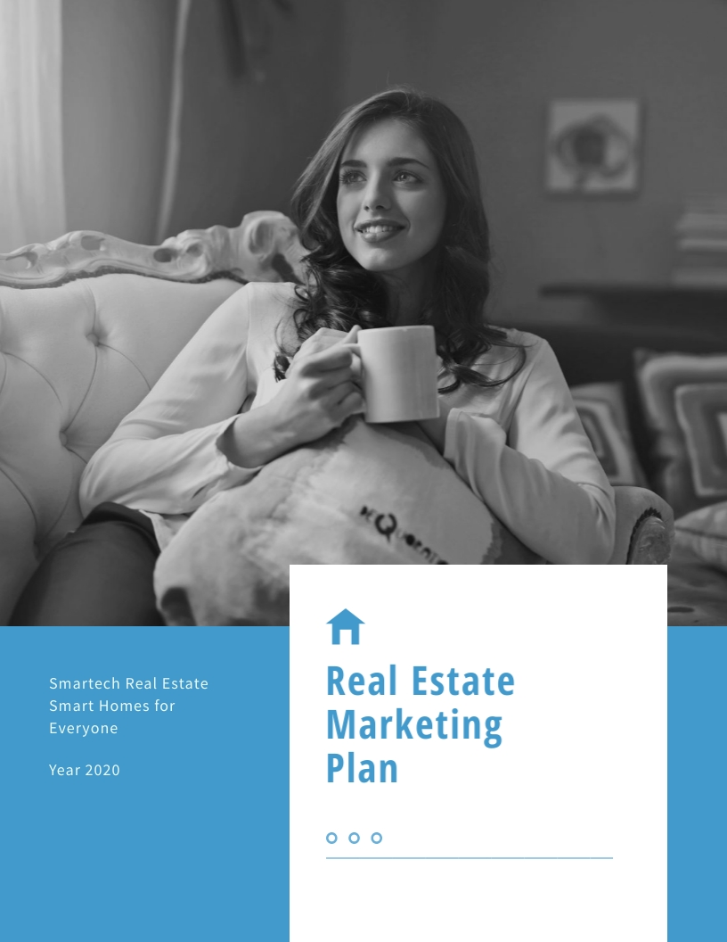Real Estate - Marketing Plan Template