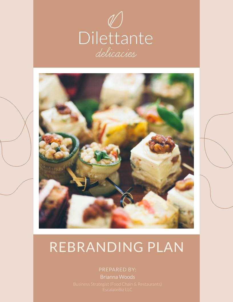Rebranding - Project Plan Template