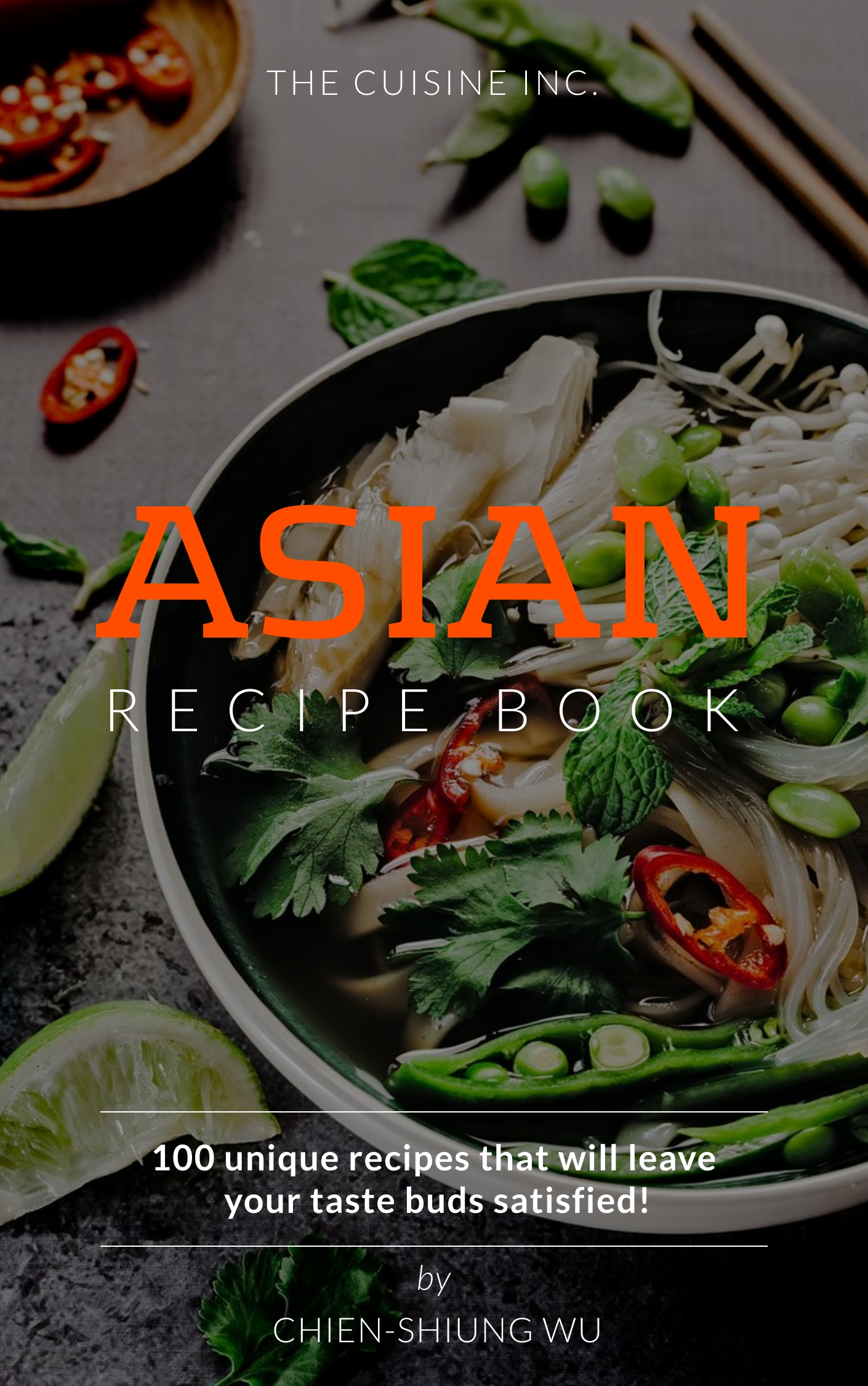 Recipe - Book Cover Template