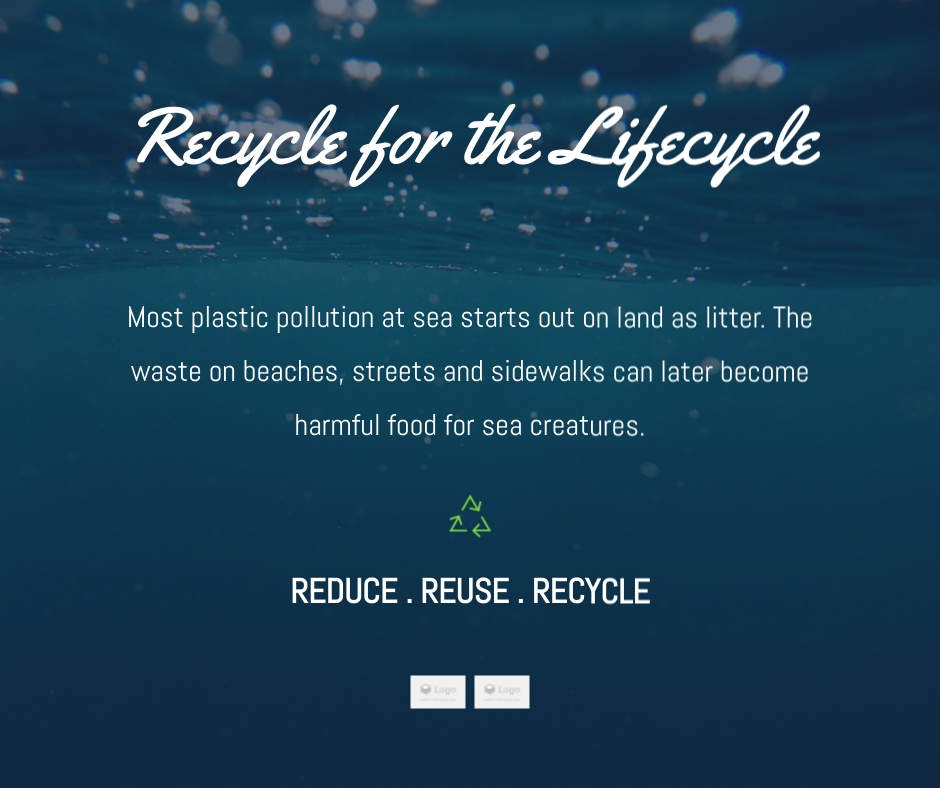 Recycle for the Lifecycle  - Facebook Post Template
