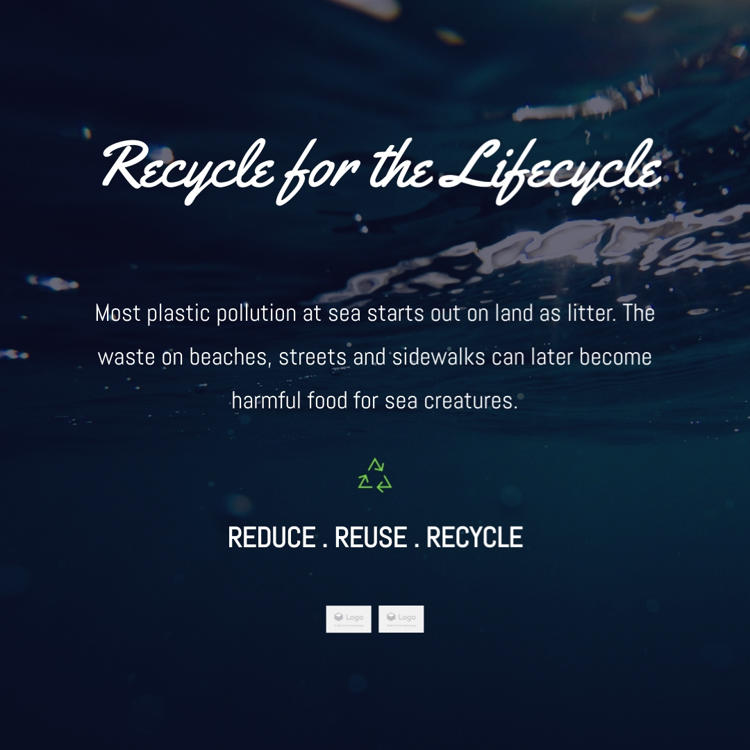 Recycle for the Lifecycle Instagram Post Template