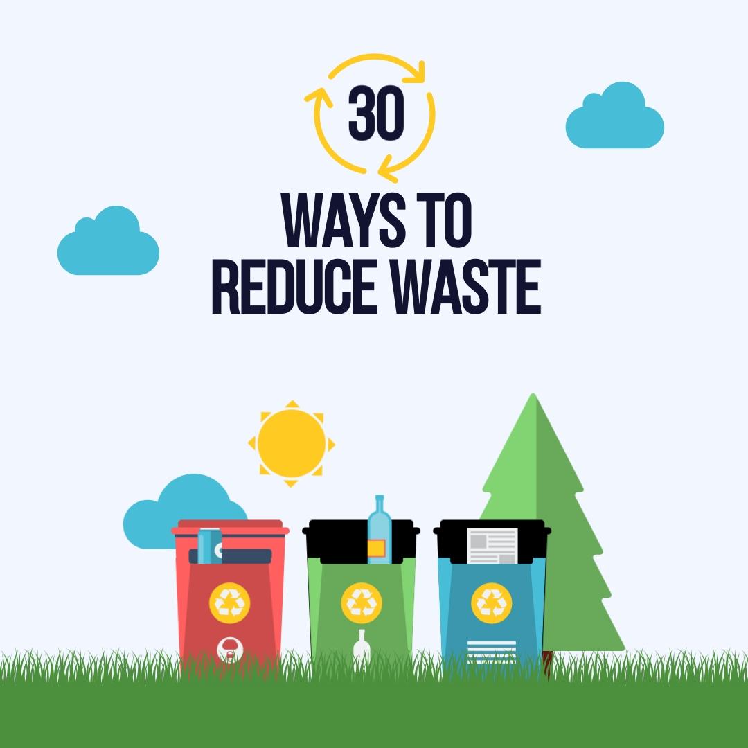 Reduce Waste - Instagram Post Template