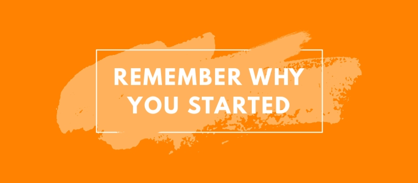 Remember Why You Started - Facebook Page Cover Template