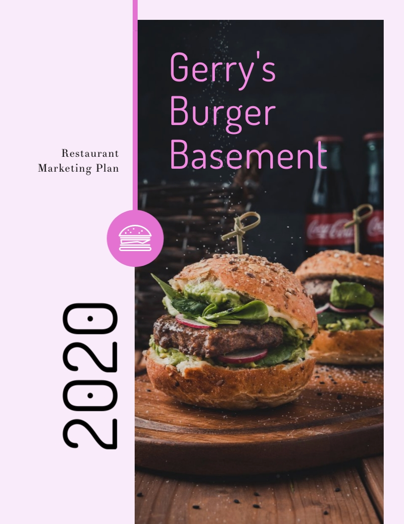 Restaurant - Marketing Plan Template