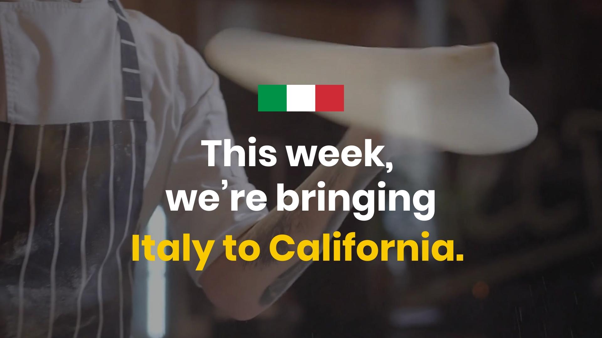 Restaurant Twitter Video Ad Template