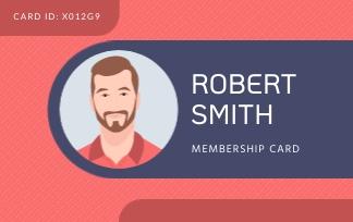 Robert Smith - ID Card Template