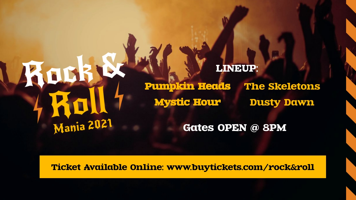 Rock Concert Facebook Event Cover Template