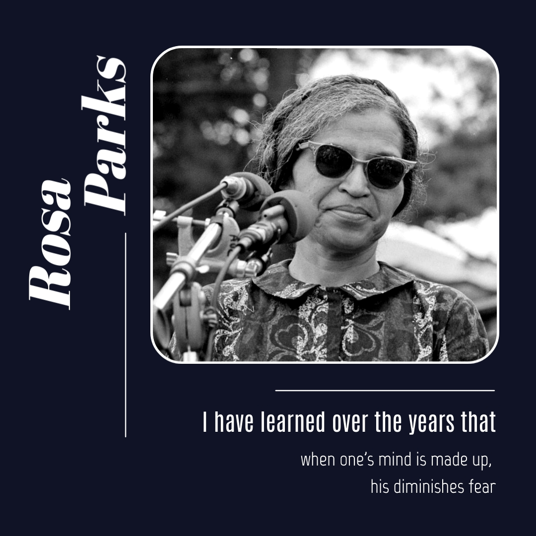 Rosa Parks Animated Quote Square Template