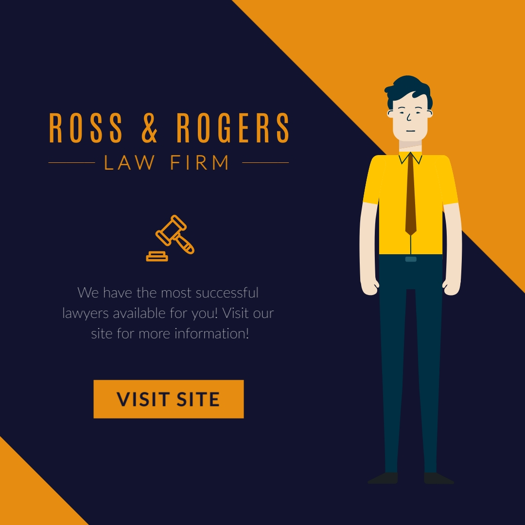 Ross and Rogers Law Firm Square Template