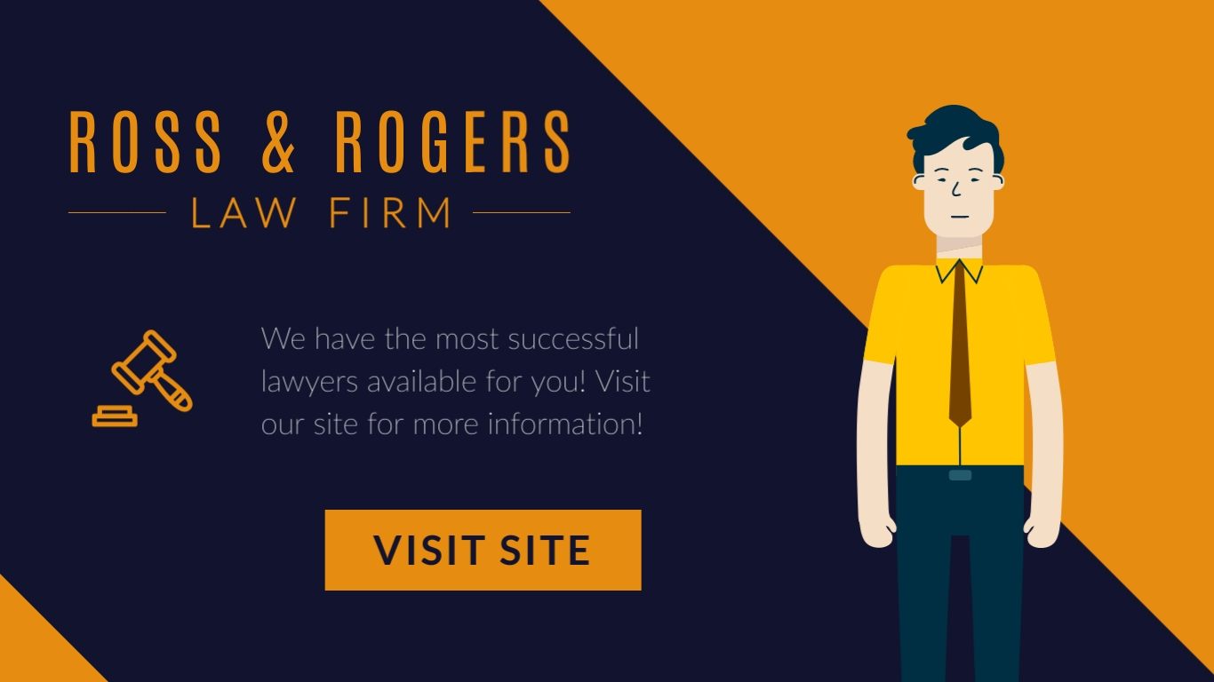 Ross and Rogers Law Firm – Twitter Ad Template