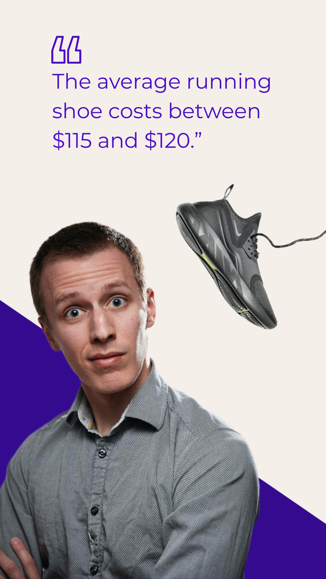Running Shoes - Instagram Video Ad Template
