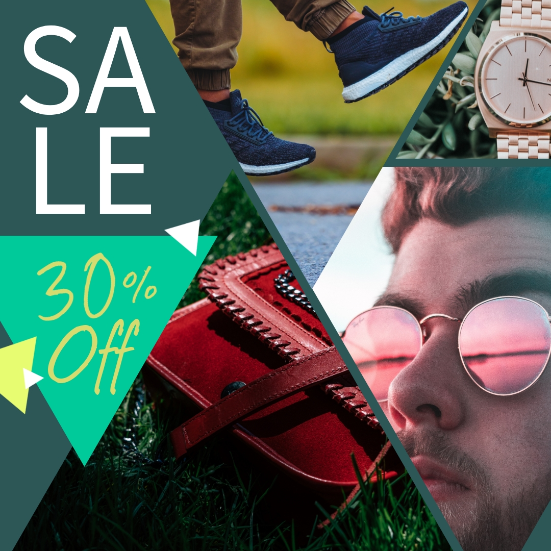 Sale Collage - Instagram Post Template