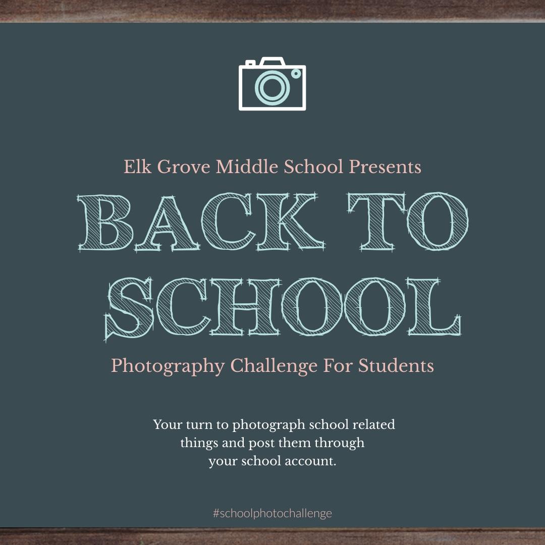 School Photo Challenge Animated Square Template
