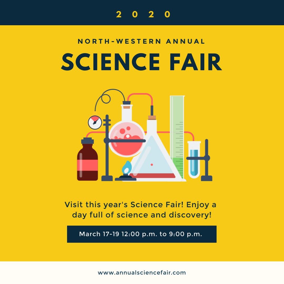 Science Fair Square Template