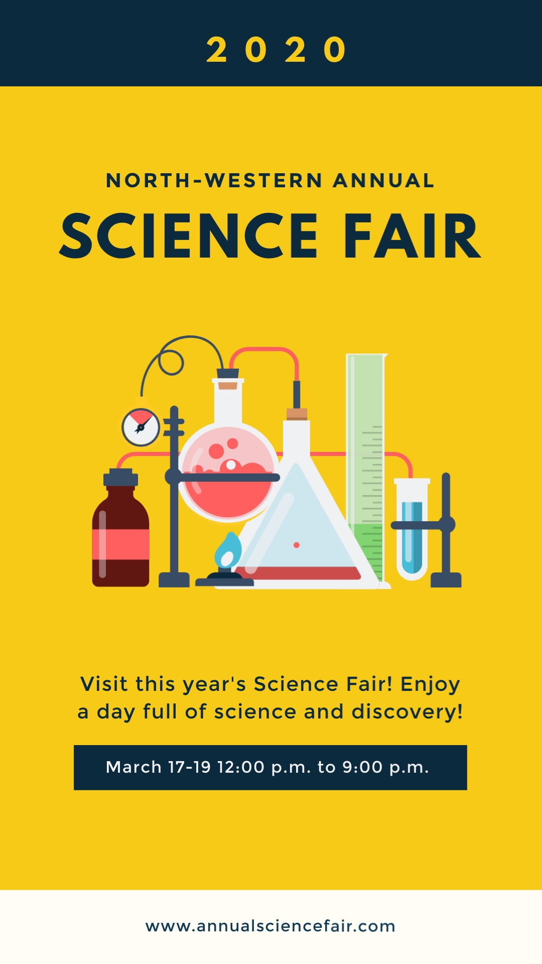 Science Fair Vertical Template