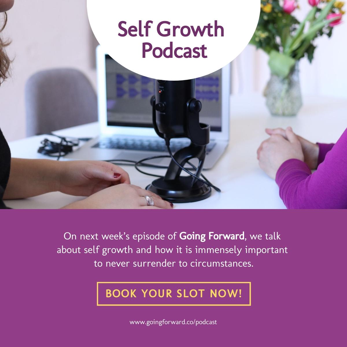 Self Growth Podcast - LinkedIn Post Template