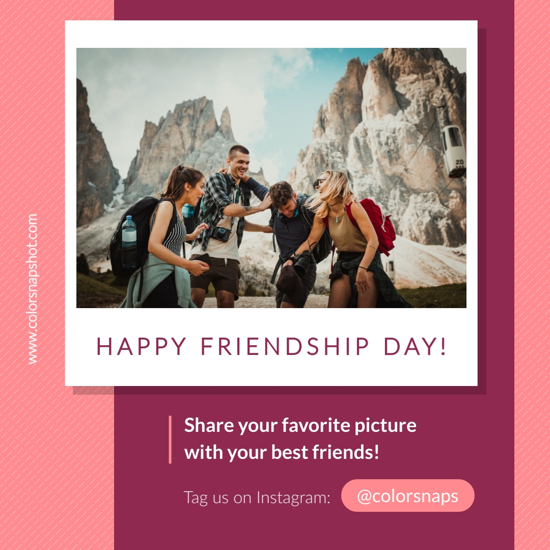 Share Instagram Post Animated Square Template