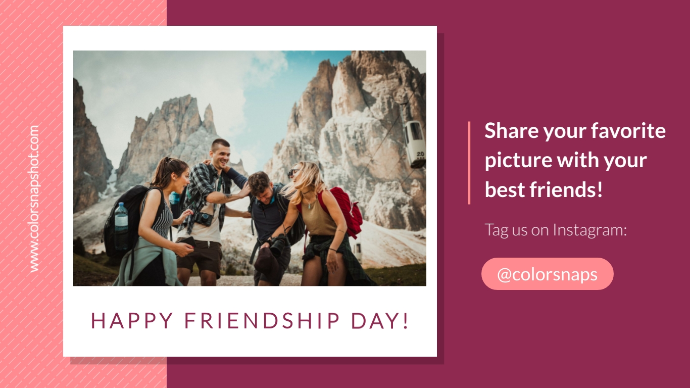 Share Instagram Post Animated Wide Template
