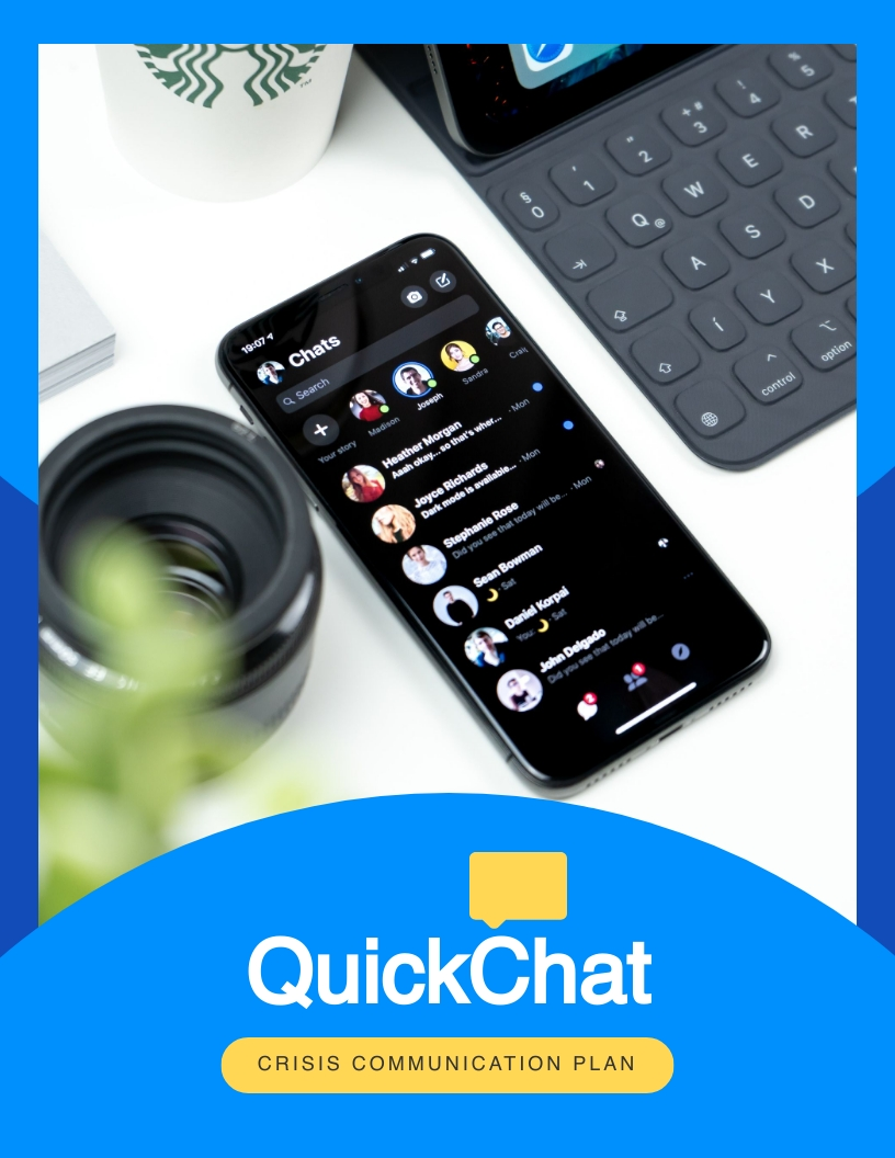 Simple - Communication Plan Template