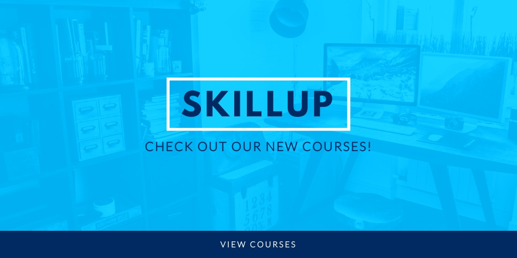 SkillUp Online Courses - Website Header Template