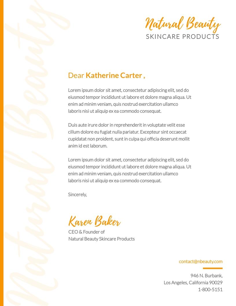 Cover Letter Letterhead Template from assets.visme.co