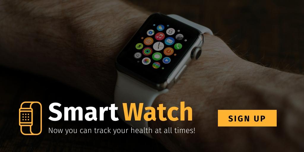 Smart Watch Twitter Post  Template