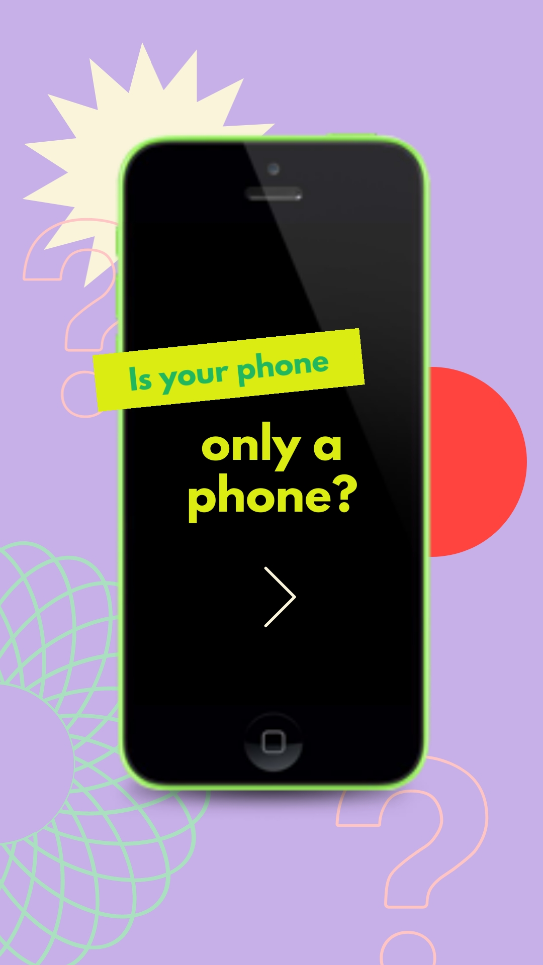 Smartphone - Instagram Video Ad Template