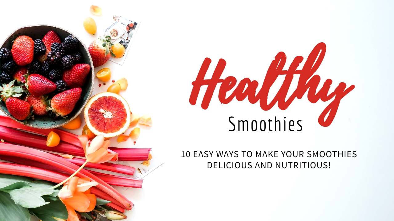 Smoothies Youtube Video Cover Template